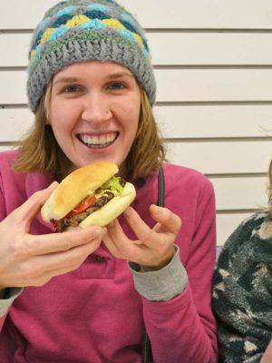 Vegan Cuisine Initiative Bruni's Yuyao, Jordanna and Wenona