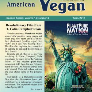 American Vegan Fall 2014 Cover Photo
