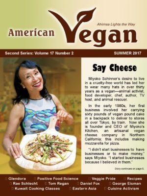 American Vegan Summer 2017 Cover Photo
