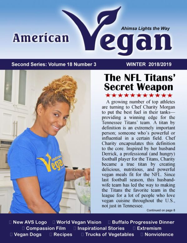 American Vegan Winter 2018/2019 Cover Photo