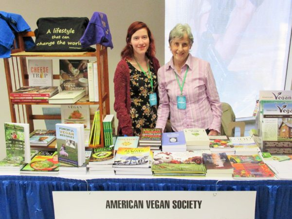 Sarah and Freya American Vegan Society