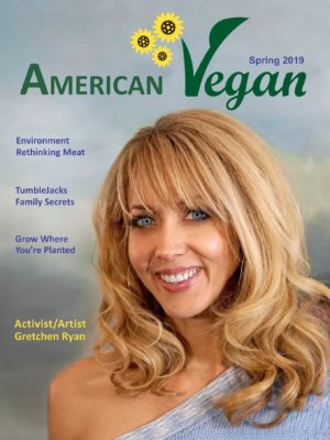 Cover American Vegan Gretchen Ryan