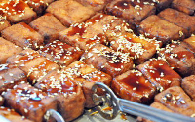 Sesame Crisped Tofu Recipe