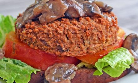 Freya's Bean Burgers & Gravy