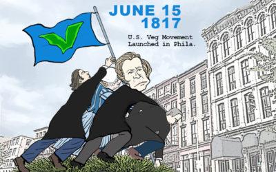 Celebrate the launch of the U.S. Veg Movement in Philadelphia